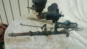 Antique Pickering Steam Engine Governor swift Lubricator walworth Throttle