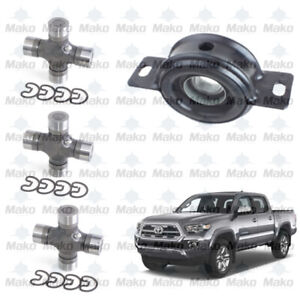 Driveshaft Center Support Carrier Bearing U joints Fits Toyota Tacoma Hilux
