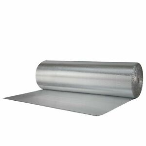 Reflectix Double Sided Insulation 48 Metallic Foil Single Bubble 4x25 r7 21