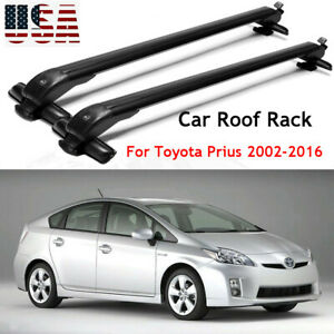 For Toyota Prius 2002 2016 Car Roof Rack Cross Bar Top Luggage Carrier 2pcs