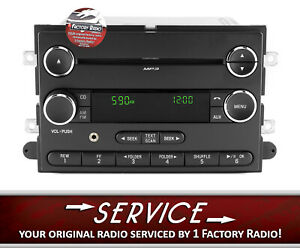 Reman And Aux Input Service For 08 Ford E150 E350 Am Fm Cd Radio Bc2t 18c869 Cb