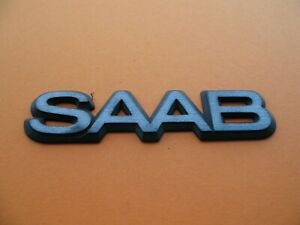 93 94 95 96 97 98 Saab 9000 Rear Emblem Logo Badge Sign Symbol Used Set A372