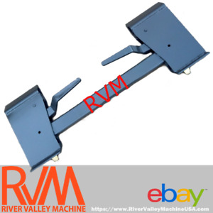 Rvm Universal Quick attach Adapter Mounting Plate Assembly For All Skid steers