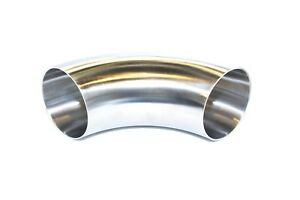 3 5 90 Degree 304 Stainless Steel Bend Custom Exhaust Turbo Downpipe