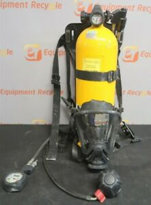 Msa Luxfer Drager Med Mask Air Tank Compressed Air Breathing Scba 30 Minute