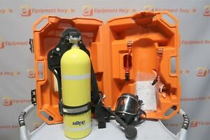 Drager Tc 3alm153 Luxfer Ps 3000 Compressed Gas Air Tank Mask Harness 2216 Psi