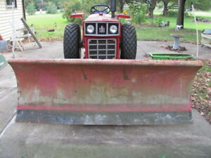 Ih International 284 285 Tractor Western 7 Ft Plow And Harness Assembly Works