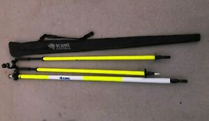 King Precision Surveying Tripods Poles Equipment Professional Grade Used