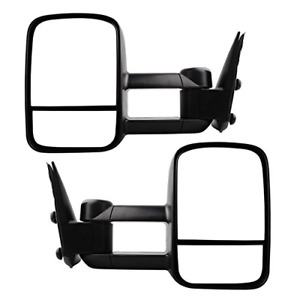 Tow Mirrors For 1999 2006 Chevy Silverado Gmc Sierra Truck Towing Mirrors Man
