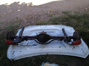 1982 1992 Camaro Iroc Z Rear End With Disc Brakes