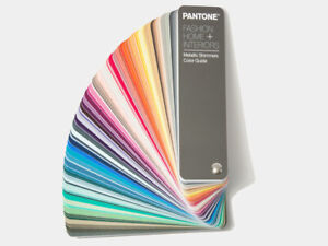 Pantone Fashion Home Interiors Metallic Shimmer Color Guide 200 New Colours