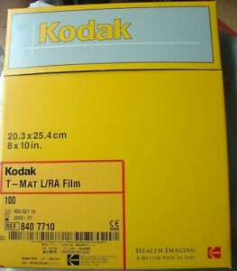 Kodak T mat L ra Film 100 8x10 In X ray Ref 840 7710