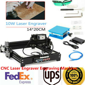 Cnc Laser Engraver Engraving Machine Desktop Metal Stone Printer Cutter Usb Sale