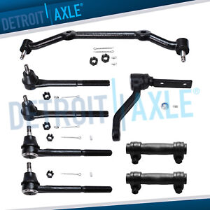 2wd Front Inner Outer Tierods Idler Arm Kit For Chevy Blazer S10 Gmc Jimmy