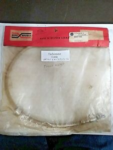 Jaguar Xk120 Xk140 Fixed Head Tachometer Cable 1952 1956 Part 2517 345