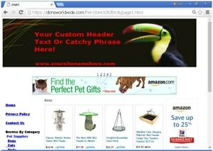 Online Business Pet Supply Store Website For Sale Free Install Bonuses And More