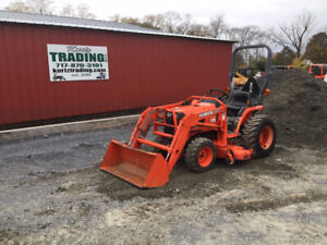 2003 Kubota B7500 4x4 Hydro Compact Tractor W Loader Only 300hrs One Owner
