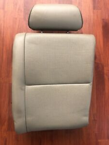 Tan Lexus Is300 Sportcross Rear Upper Left Seat Cushion Assembly Oem Wagon Jce10