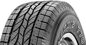 4 New 255 70r17 Maxxis Bravo Ht 770 Highway Terrain Tires 2557017 255 70r R17