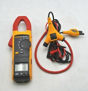Fluke 381 Remote Display True Rms Ac dc Clamp Meter W Iflex Leads Electrical
