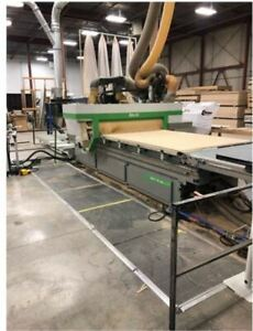 Biesse Skill 1536 G Ft Cnc With Infeed And Outfeed Tables