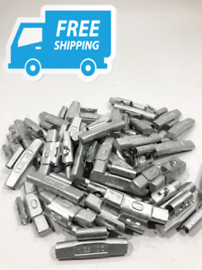 Wheel Balancing Weights Mc Type Coated Clip On 1 25oz 50 Piece Box Free Shipp