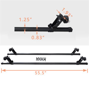 All In One Sr1001 56 Roof Rack System Compatible With Most Vehicles Rain Gutter