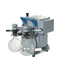 Brandtech Diaphragm Pumps With Solvent Recovery Mz 2c Nt 2ak 7 Mbar 1 4 Cfm
