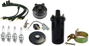 12v Coil Ignition Tune Up Kit Ih Farmall 400 404 424 444 450