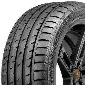 Continental Contisportcontact 3 P225 45r17 91w Bsw Summer Tire