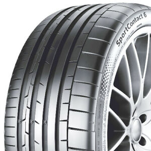 Continental Sportcontact 6 P295 35r19 104y Bsw Summer Tire