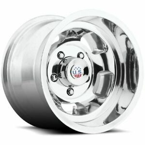 15x10 Us Mags U101 Indy Polished Wheels 5x4 5 50mm Set Of 4
