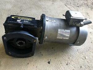 Right Angle Winsmith Gearbox W Hollow Output 3 phase Sterling Electric Motor