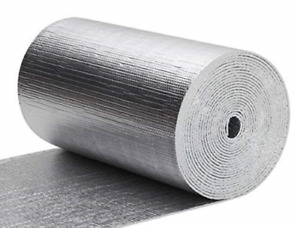 200 Sf Reflective Foam Thermal Foil Insulation Radiant Barrier 48x50 Ft Roll