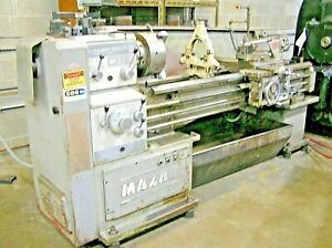 Yamazaki Mazak Gap Bed Manual Engine Metalworking Lathe 18 X 60