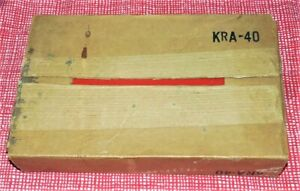 1974 Snap On Tools Corp Vintage Kra 40 Metal Tool Storage Red Case Empty