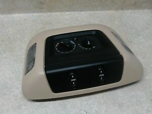 Ford Expedition Overhead Roof Ceiling Console Map Lights 03 06 Sunroof