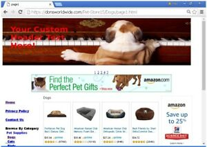 Pet Store Turnkey Website For Sale Free Domain Setup Plus Free Bonuses And More