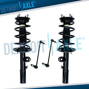 Fwd Front Struts W springs Shocks Sway Bars For 2014 2015 16 2017 Ford Explorer