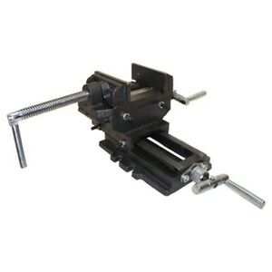 3 Cross Slide Vise Drill Press 2 way Heavy Duty Metal Milling Clamp Vise