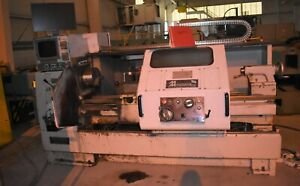 20 X 60 Milltronics partner Ml20 2 axis Combo Manual cnc Lathe 28897