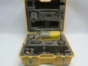 Trimble Spectra Precision Dg511 Pipe Laser W Remote Case Accessories