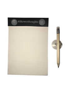 Waterproof Notepad Shower Notepad With Pencil For Taking Notes In The Shower