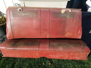 1962 65 Nova Chevy Ii Rear Seat