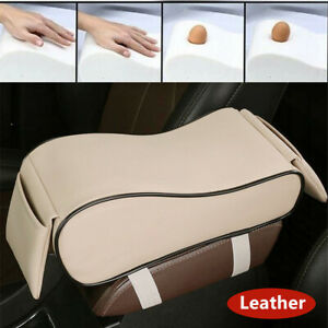 Leather Universal Car Truck Armrest Pad Cover Vehicle Center Console Cushion Mat