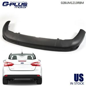 For Ford Focus Sedan 2012 2013 2014 Rear Bumper Lower Cover Valance Striae