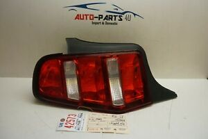 2010 2011 2012 Ford Mustang Left Driver Tail Light Oem Ue42573