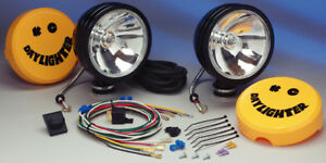 Kc Hilites Daylighter Quartz Halogen Black Long Range Off Road Light Kit Kch238