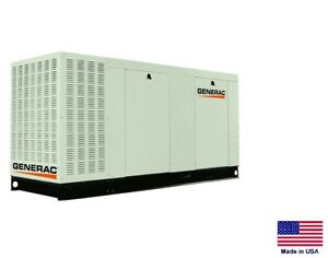 Standby Generator Commercial 80 Kw 120 240v 1 Phase Natural Gas