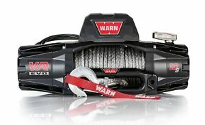 Warn 103253 Vr Evo 10 S Truck Jeep Suv Winch 10 000 Lb Synthetic Rope
